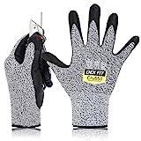 DEX FIT Level 5 Cut Schnittfeste Handschuhe Cru553, 3D Komfort Stretch Fit, Power Grip,...