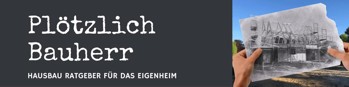 Plötzlich Bauherr - Hausbau Blog - Logo