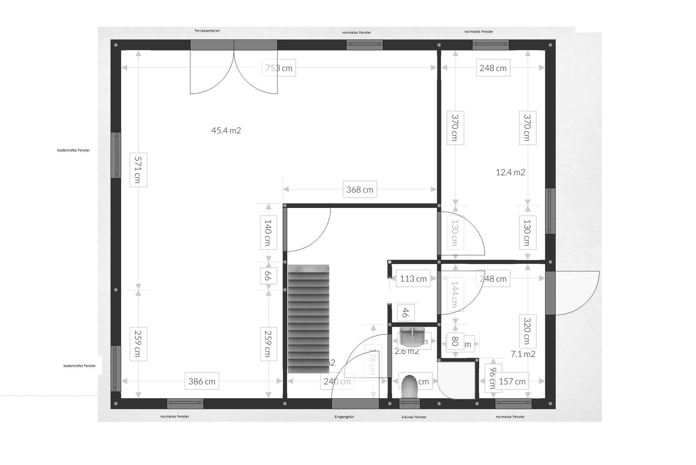 Einfacher grundriss  Grundrisse für das eigene Haus erstellen - Plötzlich Bauherr