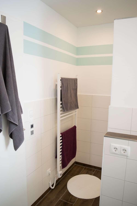 Handtuchheizkörper Dusche
