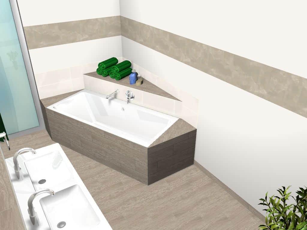 Badezimmer Platten