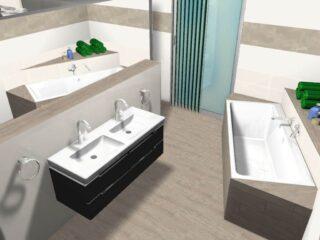 badezimmerplanung ohne dachschrägen