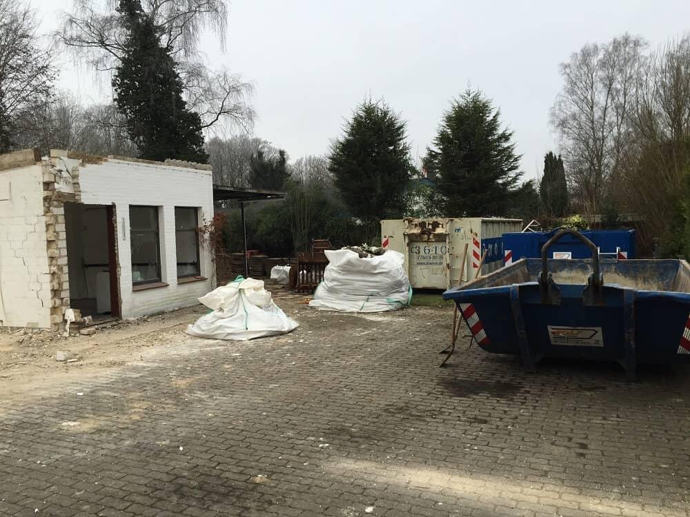 Abriss Altbestand - Hausbau - Hausbau Blog - Neubau - Hausabriss