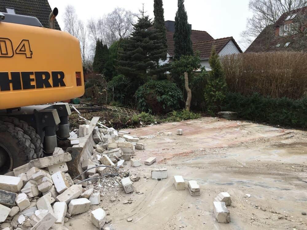 Abriss Altbestand - Hausbau - Hausbau Blog - Neubau