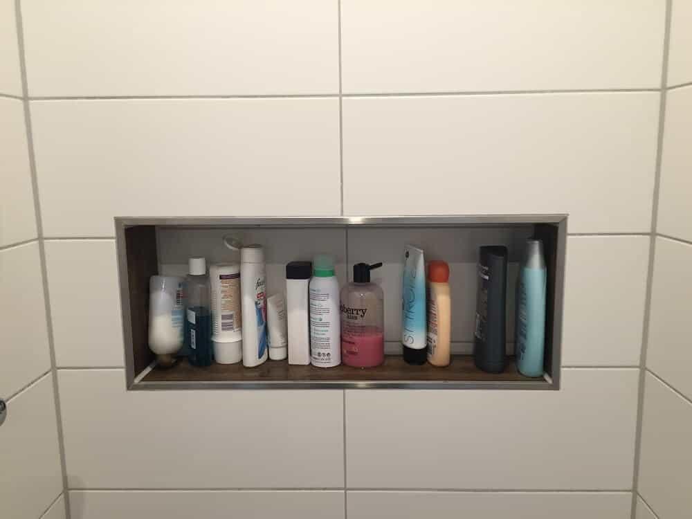 Ablage F?r Dusche Zum Einh?ngen : Duschablage ? Unser Ablagefach in der gemauerten Dusche