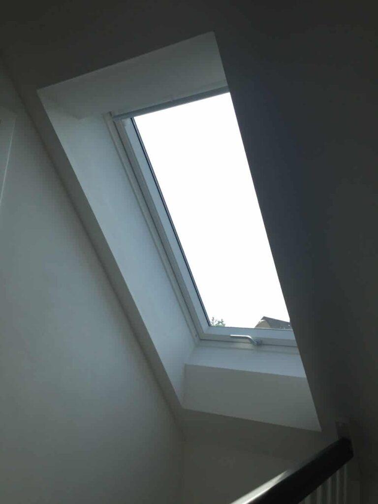 Dachfenster geschlossen