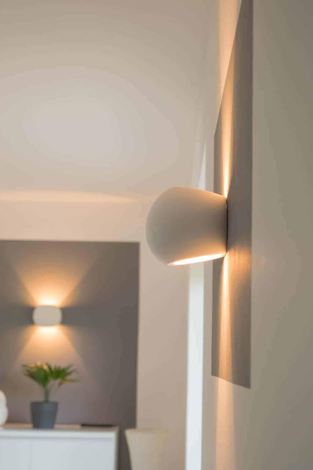 Dimmbare LED Wandlampen Wandleuchte Wohnzimmer