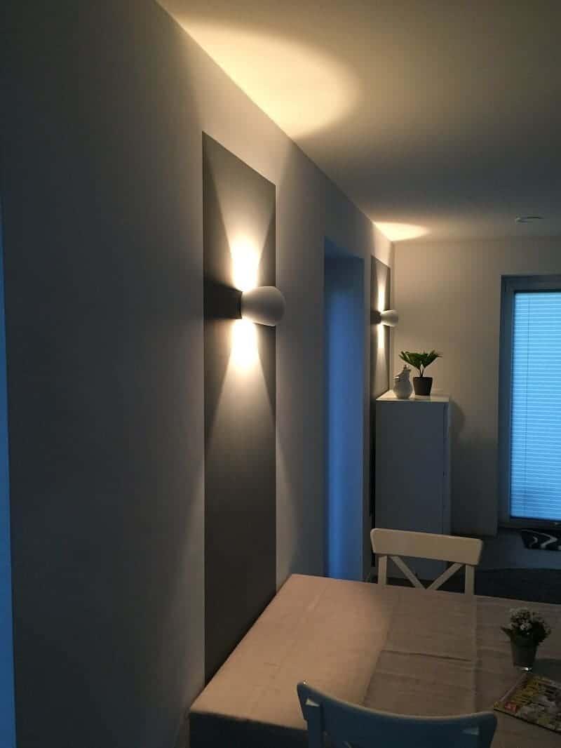 Wandleuchte innen LED dimmbar
