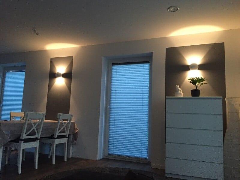 dimmbar Wandlampe LED Wohnzimmer