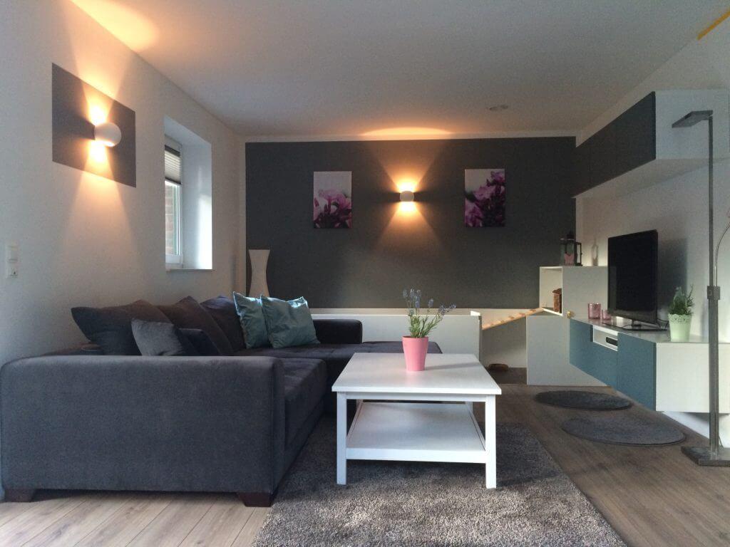 Awesome Wohnzimmer Wände Streichen Photos - Ridgewayng.com ...