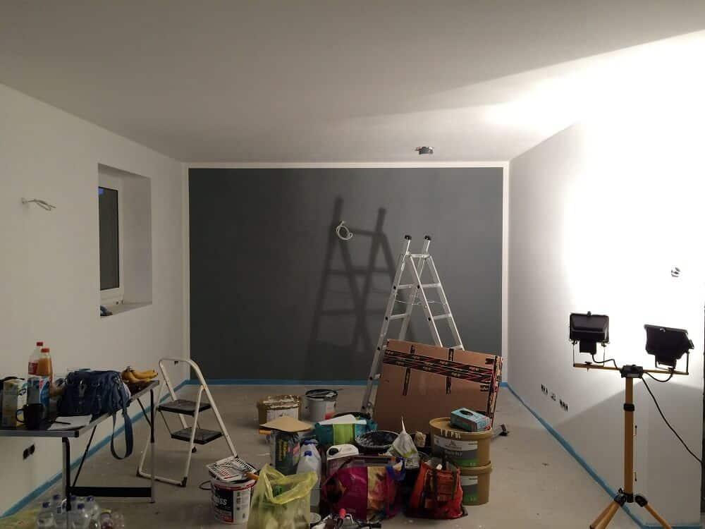 wohnzimmer in grau streichen - Wohnzimmer Grau Streichen