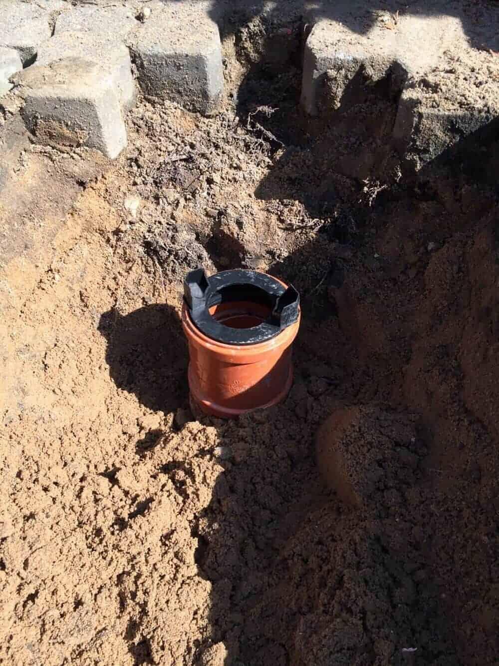 ACO Rinne - Aufsatz für Regenwasserleitung