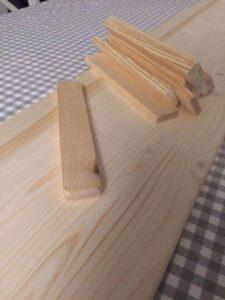 Treppe für den Hasenstall selber bauen