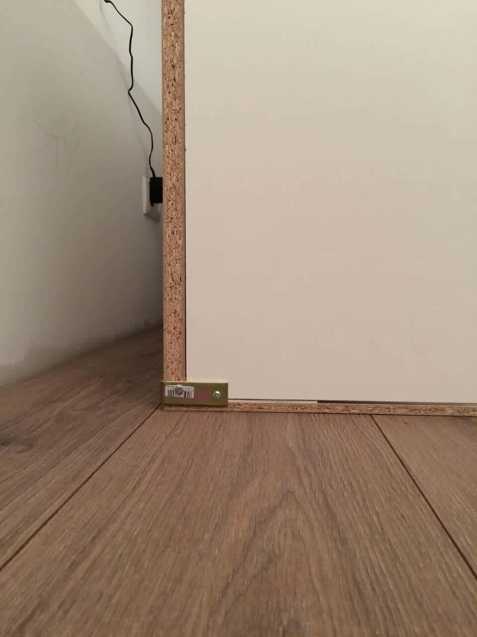 Winkel für die Wände vom selbstgebauten Kaninchenstall