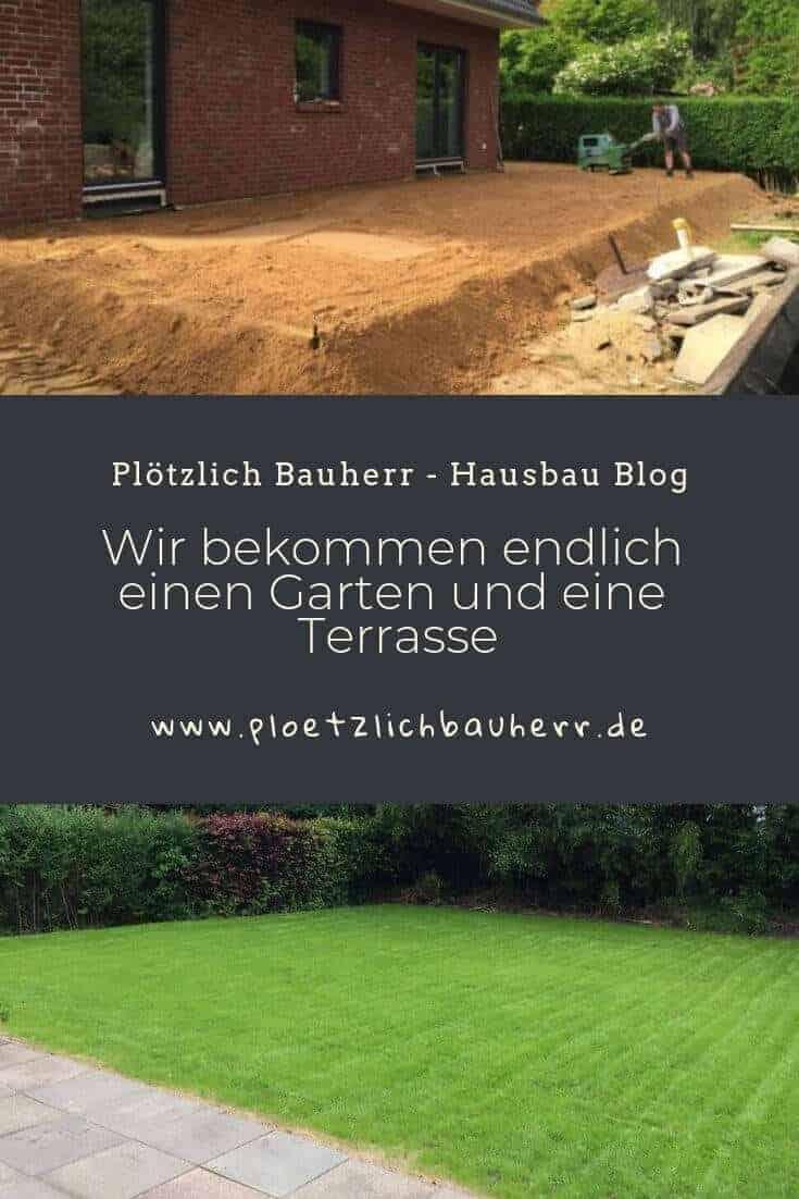 Wir bekommen einen Garten und eine Terrasse #Garten #Terrasse #Terrassenbau