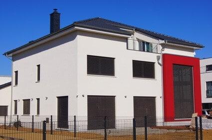 modernes zweifamilienhaus