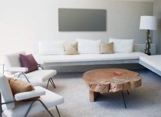 Infrarotheizung als Dekoelement im Wohnzimmer