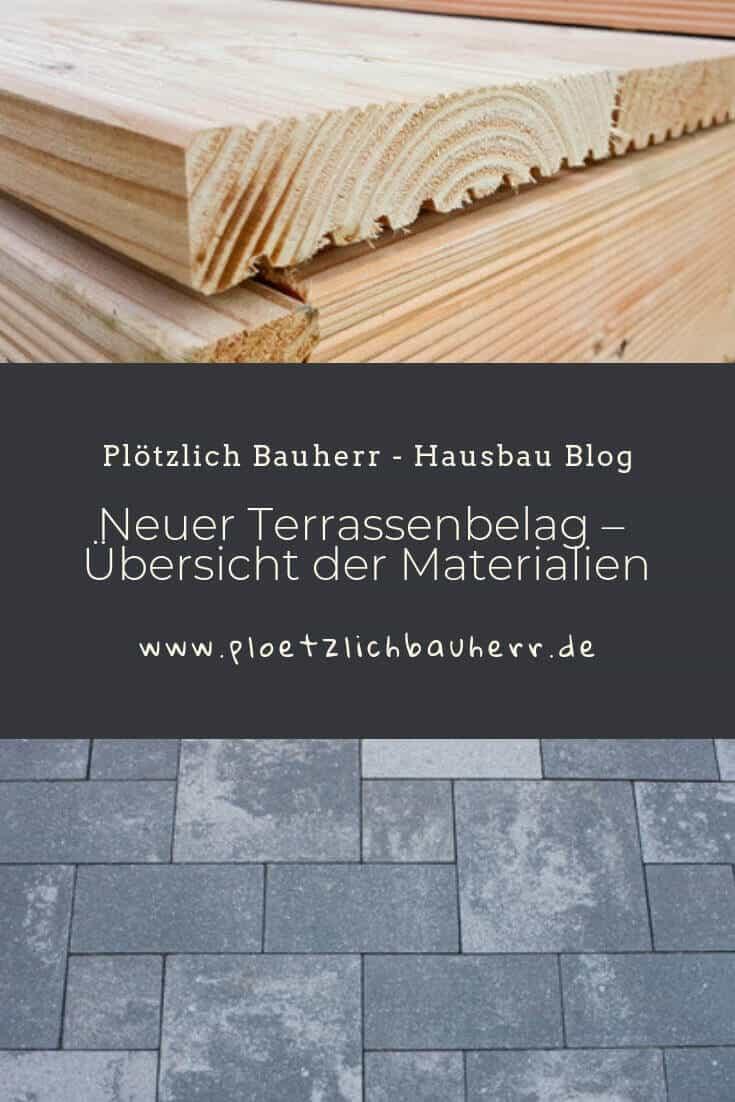 Welchen Belag für die neue Terrasse #Holz #Stein #Beton #Fliesen #WPC