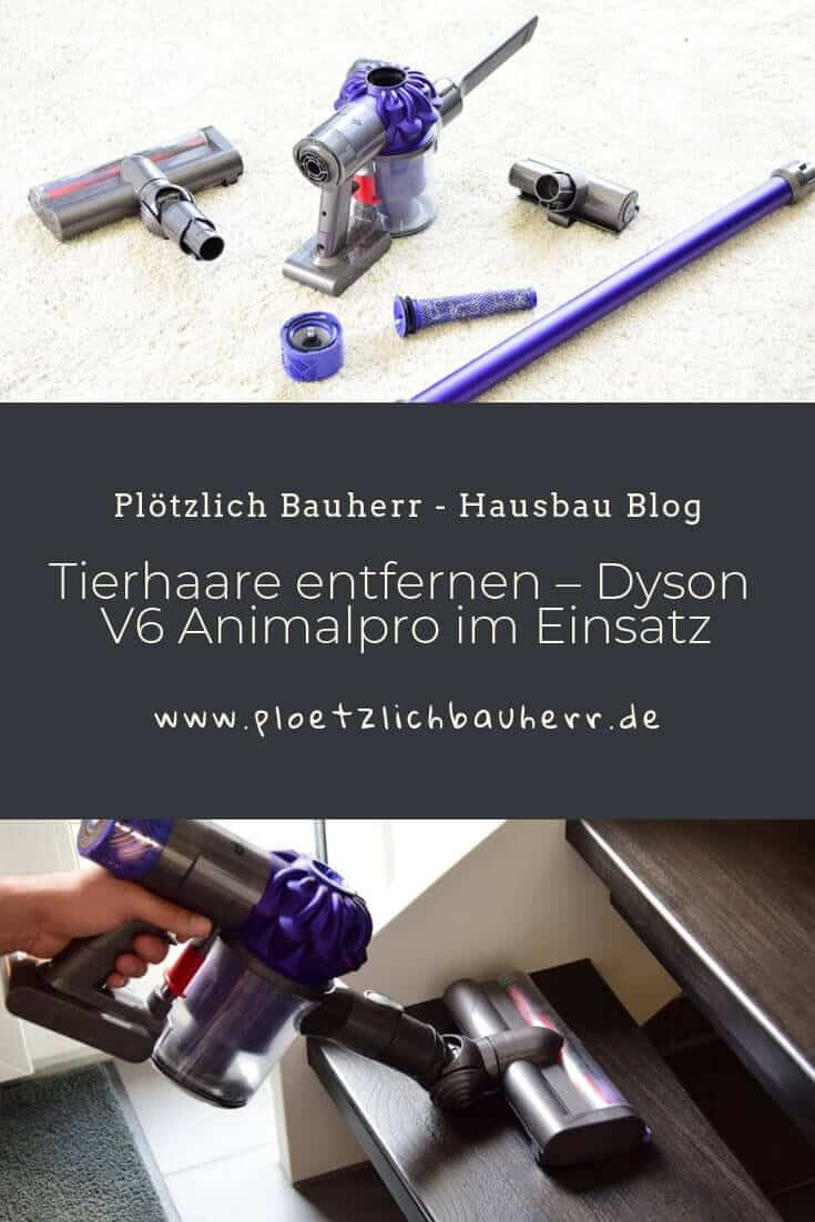 tierhaare entfernen dyson akkusauger v6 animalpro im einsatz. Black Bedroom Furniture Sets. Home Design Ideas