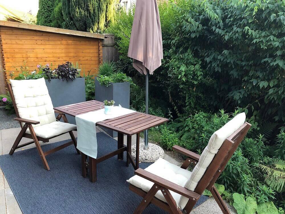 Terrasse aus holz gestalten gemutlichen ausenbereich  Zweites Wohnzimmer im Freien: Terrasse (oder Balkon) gestalten
