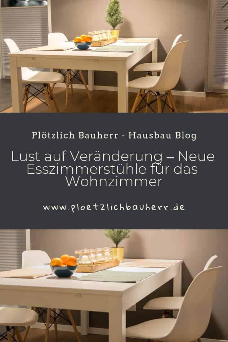 Neue Esszimmerstühle sorgen für Abwechslung und Veränderung im Wohnzimmer #Stühle #Esszimmer #Wohnzimmer #Skandinavien