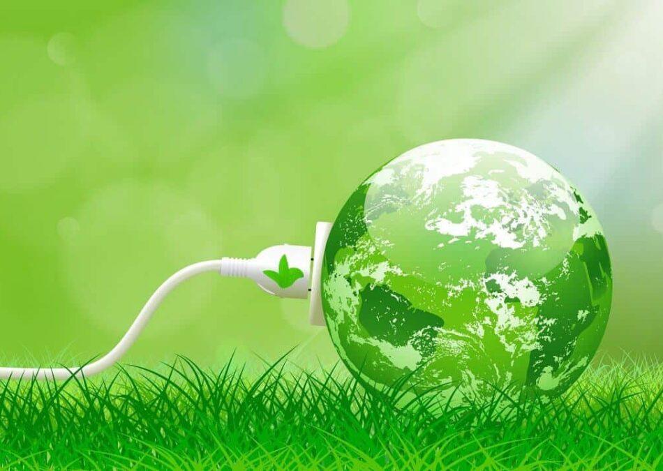 umweltfreundliche energie durch Ökogas und Ökostrom