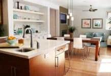 Die Wohnküche als Mix aus Wohnzimmer und Küche