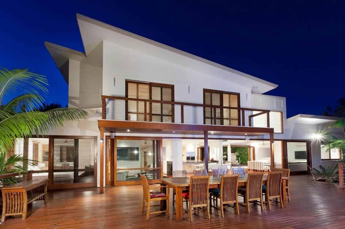 Pultdächer werden vor allem bei sehr modernen und futuristischen Häusern gerne verwendet