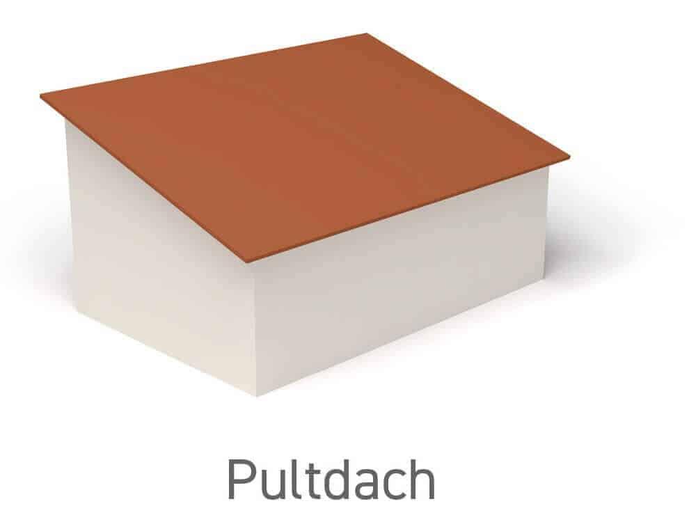 Pultdach - Vorteile, Nachteile und Wissenswertes