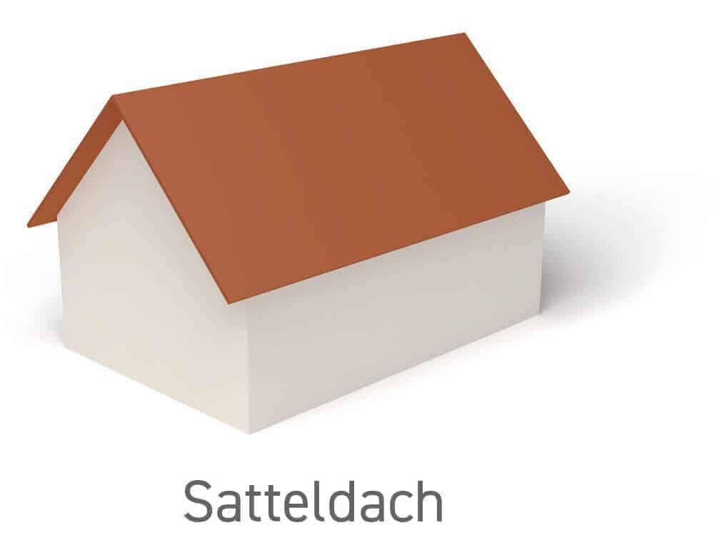 Satteldach - Vorteile, Nachteile und Wissenswertes