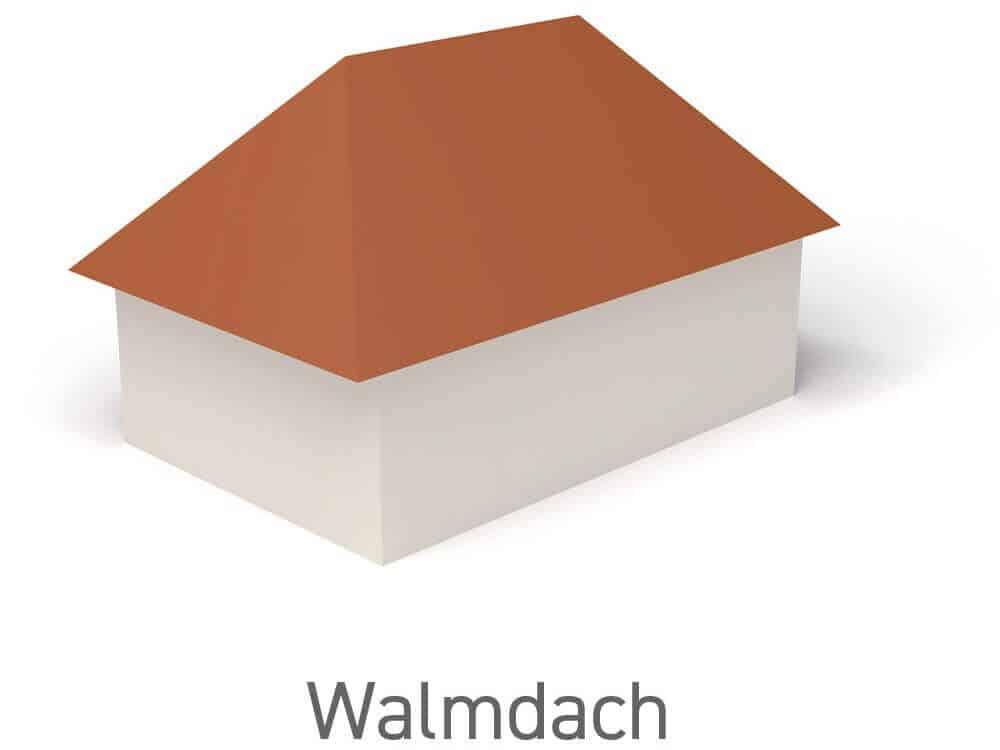 Walmdach - Vorteile, Nachteile und Wissenswertes