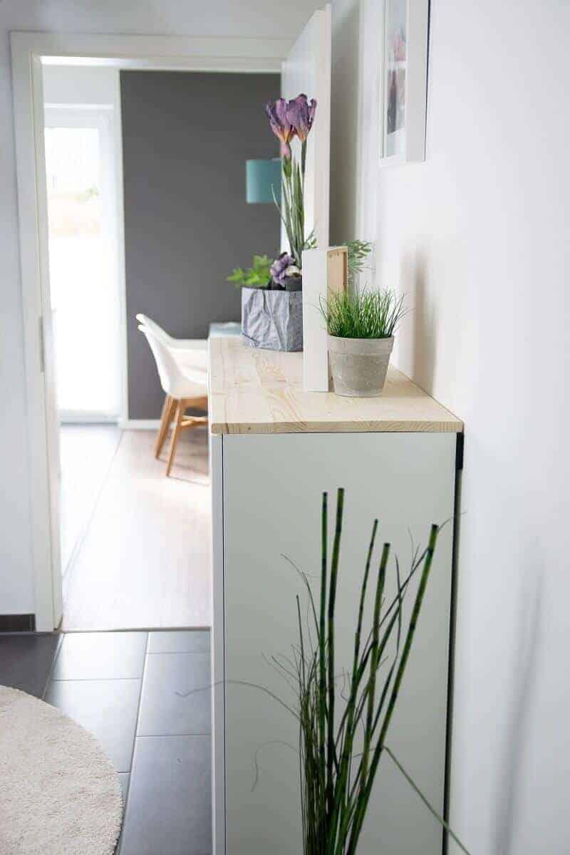 Ikea Hack Für Mehr Stauraum Im Flur Aus Küchenschrank Wird Sideboard