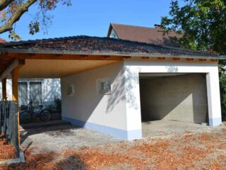 garage oder carport wer platz und das nötige budget hat kann beides ideal kombinieren