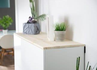 Neues Sideboard im Flur - IKEA Küchenschränke für mehr Stauraum im Flur