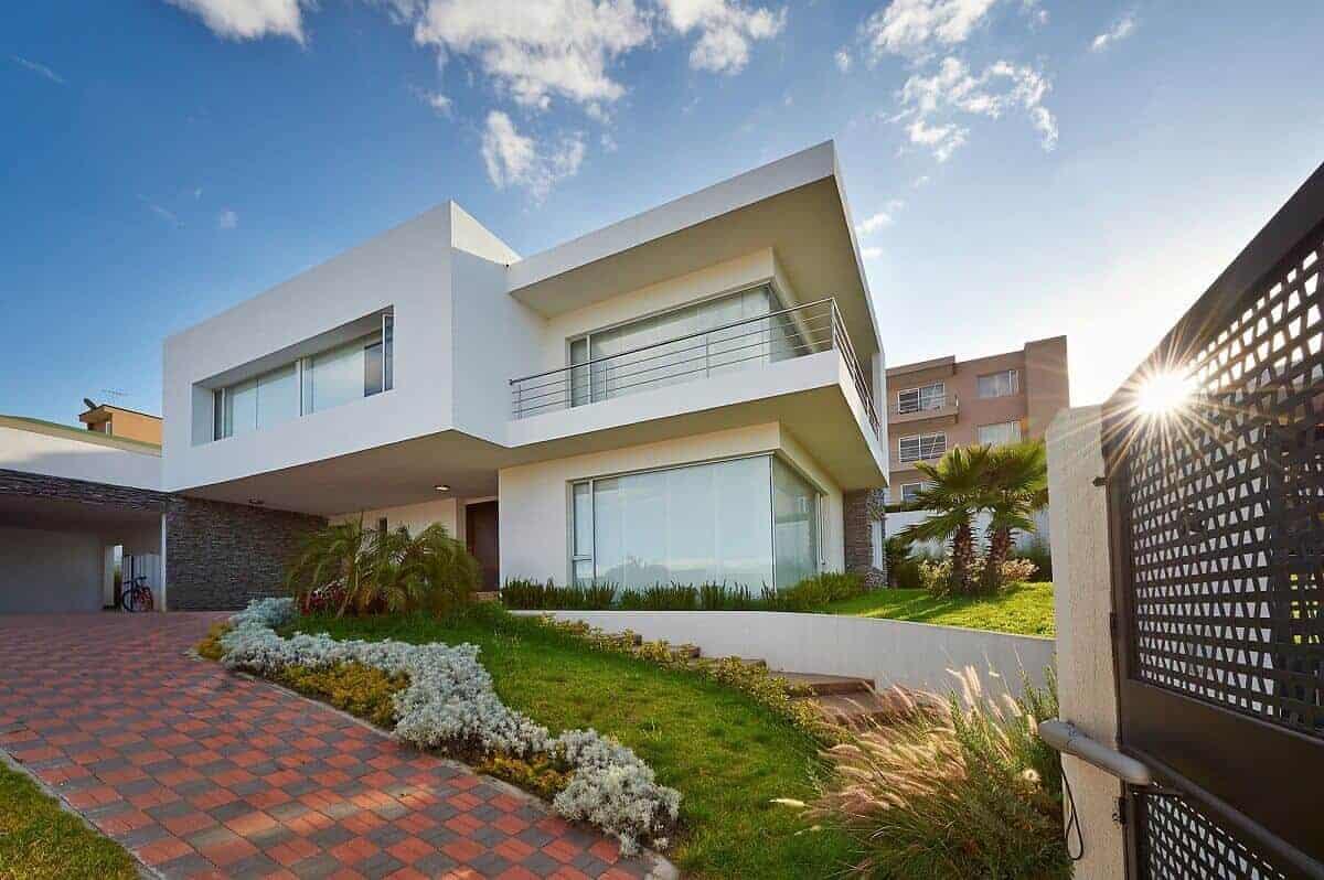 Moderne Häuser sind aktuell sehr beliebt