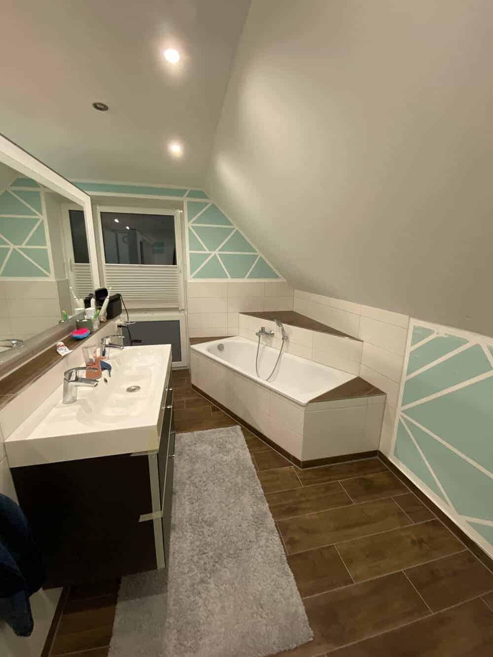 so sah das badezimmer vor der renovierung aus