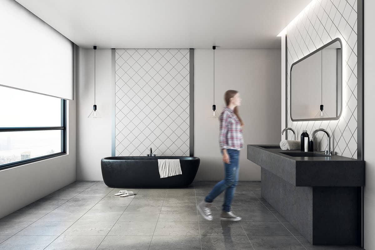 Ein Betonwaschtisch mit Unterbau kann ein absoluter Hingucker im eigenen Badezimmer sein