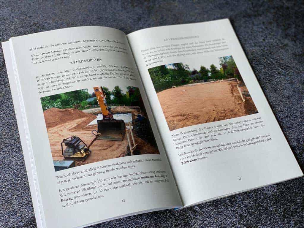 Hausbau Kosten - In unserem Buch erzählen wir dir, was wir erlebt haben und worauf Du achten solltest