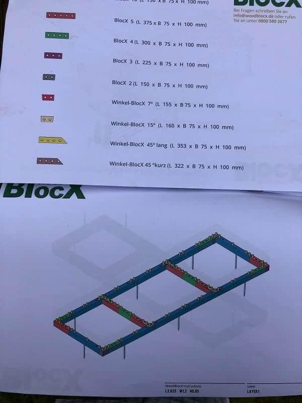 die bedienungsanleitung von woodblocx ist einfach gehalten und leicht verständlich