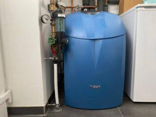 unsere wasserenthärtungsanlage im einfamilienhaus wir haben eine bwt duplex weichwasseranlage eingebaut