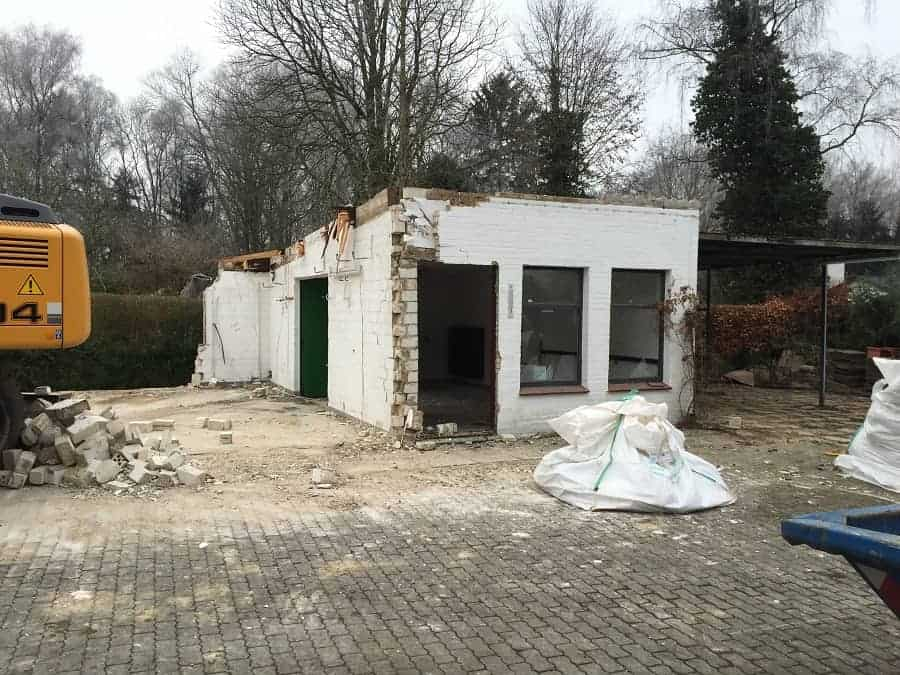 bevor das neue haus gebaut werden kann muss altbestand abgerissen werden was im schnitt bis zu euro kosten kann