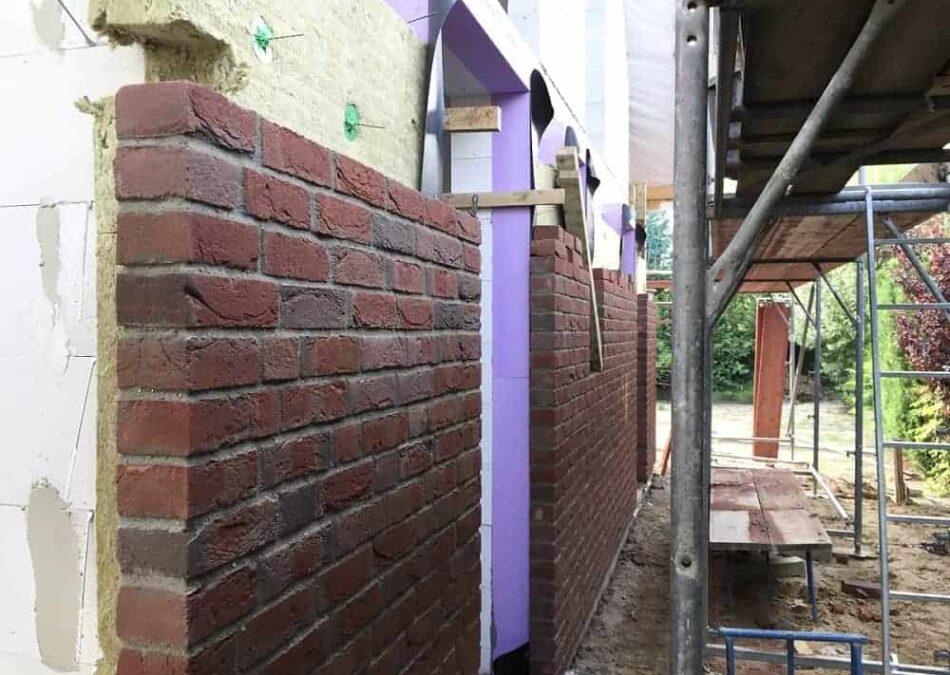 der u wert der außenfassade hängt von den verwendeten materialien ab