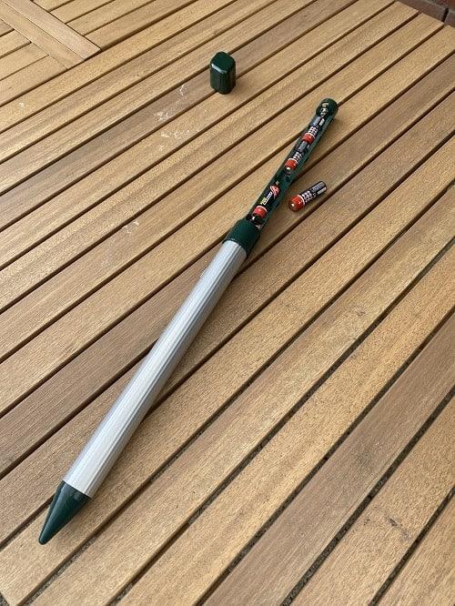 Maulwurfschreck - Wir haben zwei Stück im Garten verwendet, um den Maulwurf zu verjagen