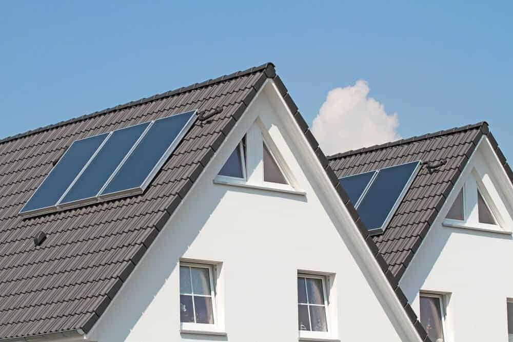 doppelhaus dach die doppelhaushaefte wird haeufig mit einem pultdach sattendach oder flachdach ausgestattet