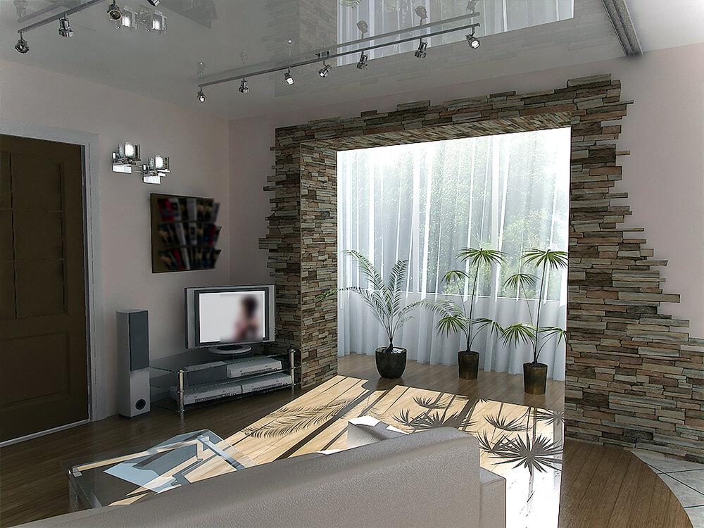Auch für Flure und Durchgänge ist eine Wandverkleidung eine schöne Möglichkeit, optische Highlights zu setzen