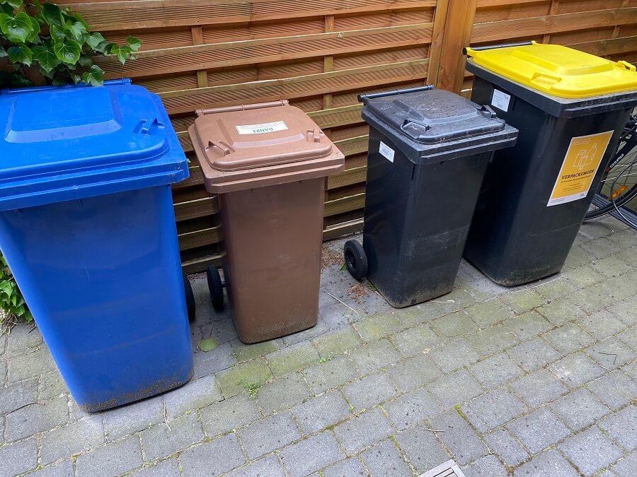 Mülltonnen FAQ - Beantragen, Kosten, Größen, Maße und vieles mehr