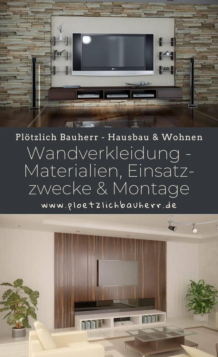 Wandverkleidung und Paneele - Übersicht von verschiedenen Materialien, Tipps zum Einsatzzweck in unterschiedlichen Räumen und für die richtige Montage